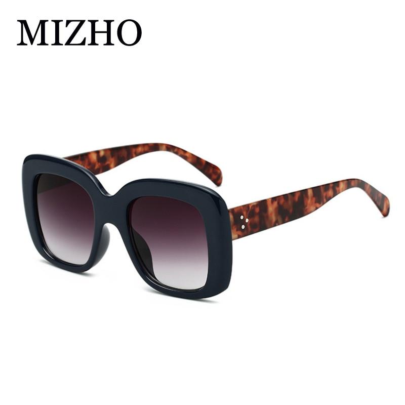 80bdf44a21 Cheap MIZHO 2019 gafas de sol cuadradas grandes de moda de diseñador de  marca Vintage Color