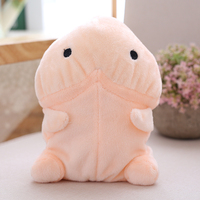 18cm Funny Electric Penis Plush Toy Soft Stuffed Plush Simulation Penis Doll Cute Sexy Kawaii Speaking