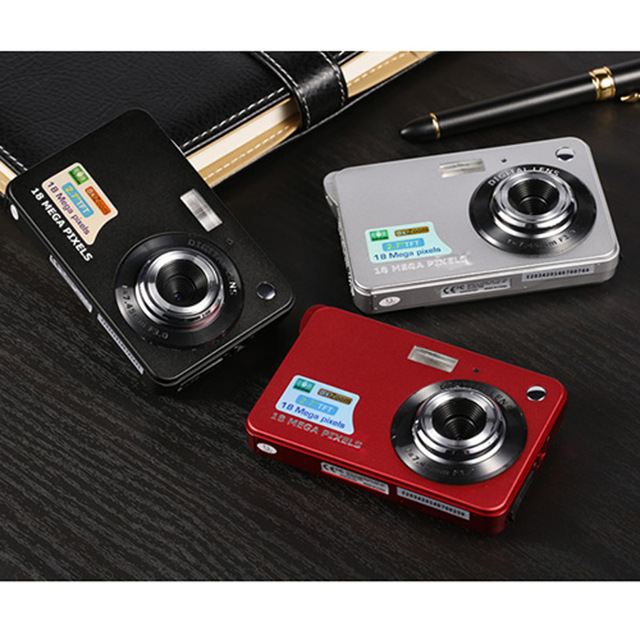 Mini Digital font b Camera b font 18MP 1080P 8x Zoom Digital Photo Frame 2 7