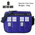 2017 Cartoon Bag Doctor Who Messenger Shoulder Bag Sling Pack School Bags Canvas Bags