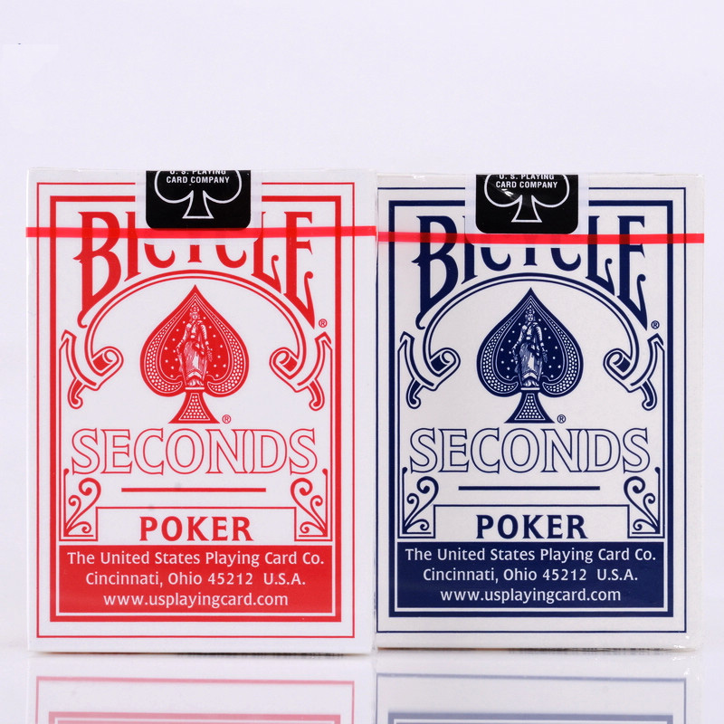 Bicycle Seconds Playing Cards Poker Blue&Red Bicycle Magic Regular Decks Rider Back Standa
