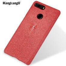 wangcangli Custom pearl leather phone case for nubia z17s half-pack mobile