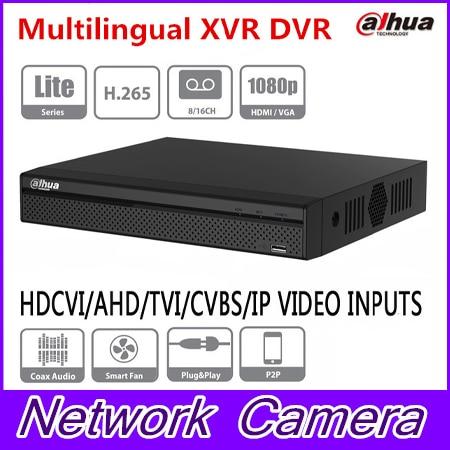 Dahua XVR5108HS-X XVR5116HS-X 8/16 Channel 1080P Compact 1U Digital Video Recorder support CVI TVI IP video for CCTV System