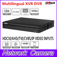 Dahua XVR5108HS X XVR5116HS X 8/16 Channel 1080P Compact 1U Digital Video Recorder support CVI TVI IP video for CCTV System