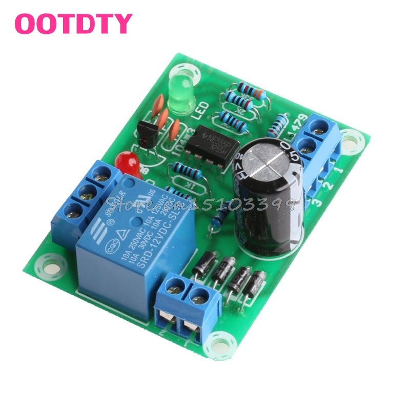 1Pc Liquid Level Controller Module Water Level Detection Sensor 9V-12V AC/DC #G205M# Best Quality electric relay unit high liquid water level controller sensor relay module detection 9 12v control high current relay