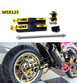 Motorcycle Tuning Parts  MSX125 Rear Fork extension device increased control shifter in shock