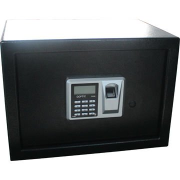 CE EMC certificate biometrics fingerprint safe with LCD display and digital code respond ...