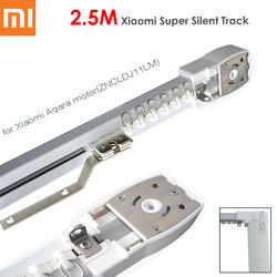 2,5 м Xiaomi Super Silent электрический шторы трек для Mijia Aqara двигатель, автоматическая занавеска рельсы/карниз, потолок Instal, двойной открытым
