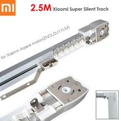 2.5 M Xiaomi Super Silencioso Elétrica Trilha Da Cortina para Mijia Aqara Motor, Automático Cortina Rails/Cornija, instalação de teto, Duplo Aberto