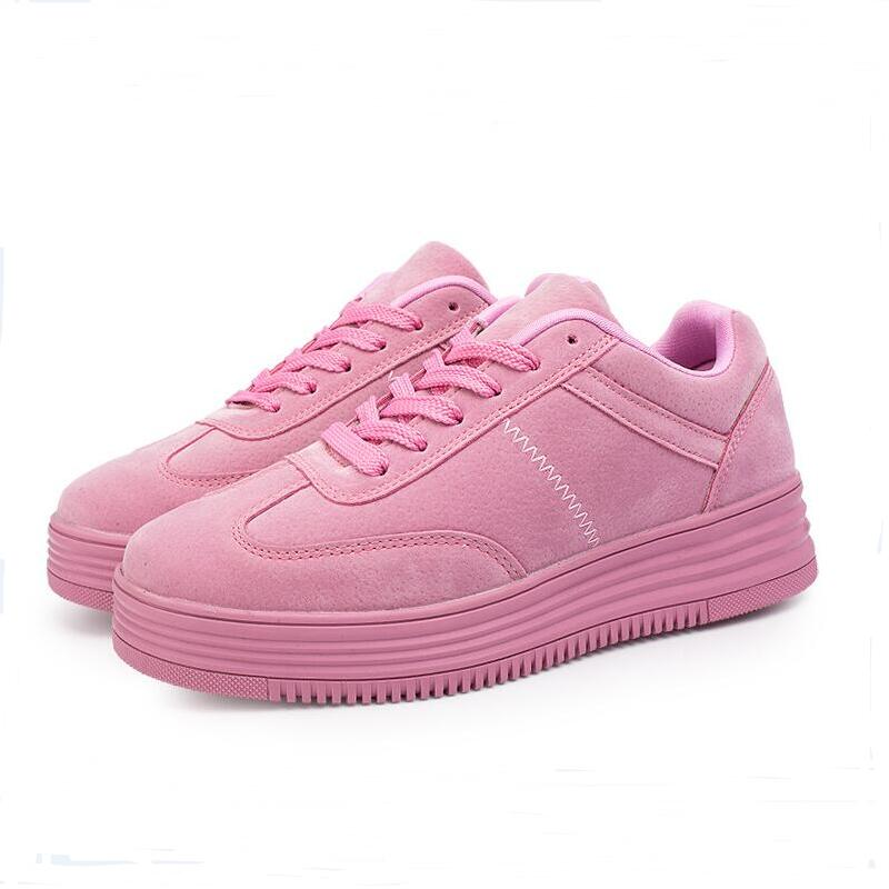2017 new spring Children shoes Thick sole casual girls sport shoes high quality women shoes female fashion sneakers size 36-40