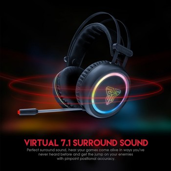 Universal Gaming Headset   EDAL Eshowee Gaming Headset Noise Reduction Bass Sound Stereo HD Sports Universal Headphone For FANTECH HG15 7.1 Channel RGB