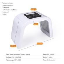 New Professional Photon PDT Led Light Facial Mask Whitening Skin Treatment Machine
