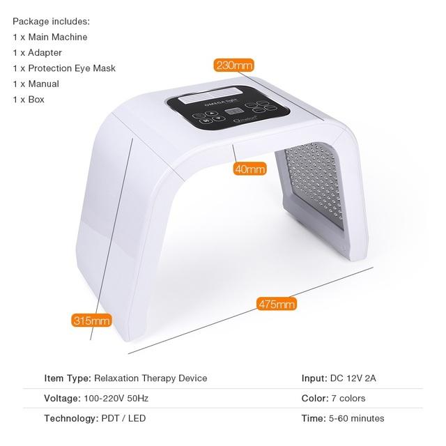 Professional Photon PDT Beaty Machine