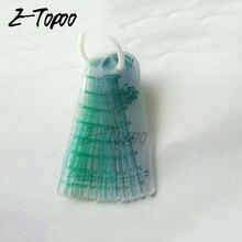 0,05-2,0 мм 20 Толщина листа пластиковый штекер щупа измерительный инструмент зазора наполнителя с ПВХ толщиномер листа
