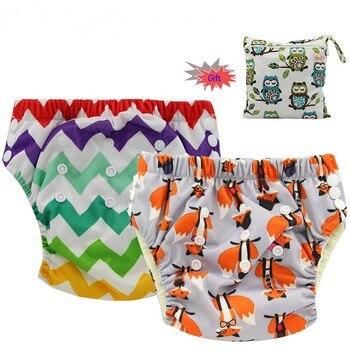 134120704 Ohbabyka bebé pañal cubierta AIO pañal de tela cosida insertar carbón de  bambú bebé pañales reutilizables lavables pañal de bolsillo para la noche