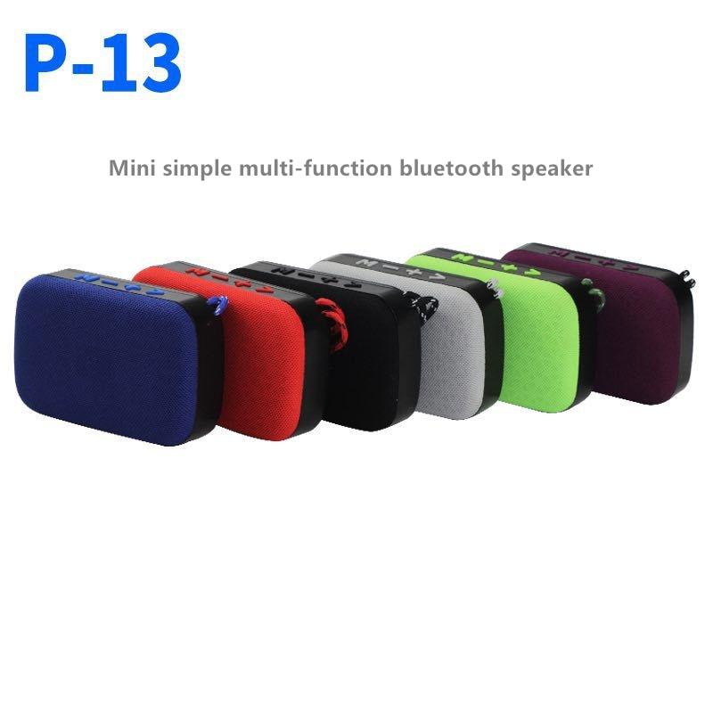 P13 Portable Speaker Wireless Bluetooth Speakers Support TF Card FM Radio