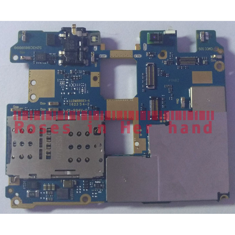 Full Working Original Unlocked For Xiaomi Redmi Pro 128GB Motherboard Logic Mother Circuit Board Lovain Plate