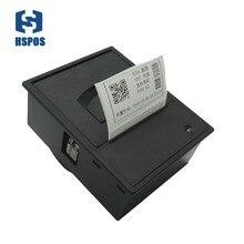 Máquina de impressão automática da escala humana da impressora ttl ou rs232 da etiqueta térmica encaixada de 2 polegadas