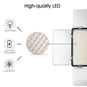 Image 3 - Capsaver 2 en 1 Kit LED lumière vidéo Studio Photo LED panneau éclairage photographique avec trépied sac batterie 600 LED 5500K CRI 95