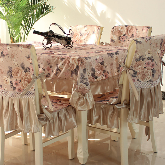 Aliexpress.com : Buy Hot Sale fashion dining table cloth chair ...