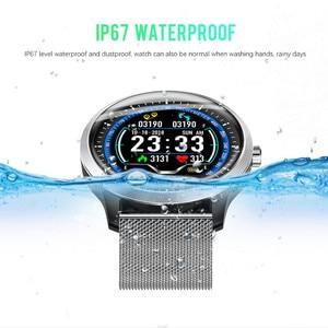 Image 2 - Lykry n58 스마트 시계 남성 여성 ecg ppg smartwatch 혈압 심장 박동 모니터 ecg 시계 안드로이드 ios reloj inteligente