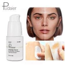 Pudaier, меняющая цвет, основа для лица, макияж, невероятный Жидкий тональный крем, Осветляющий цвет кожи, основа, косметика