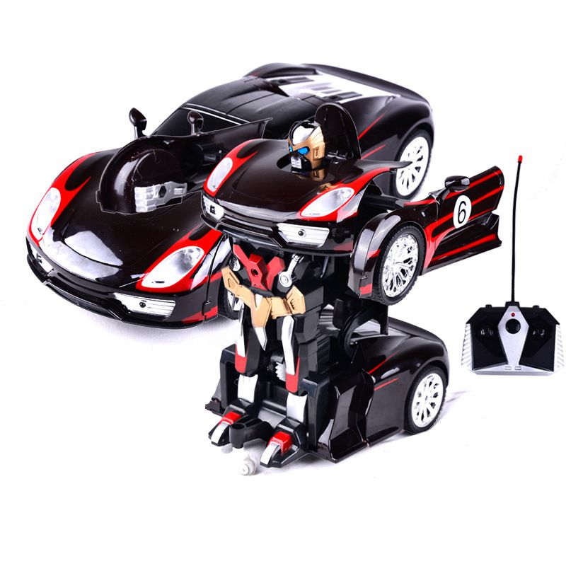 transformable RC car Charging remote control deformation car one key dance toy car K49
