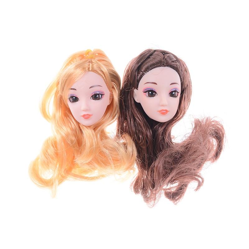 """1//3 bjd 8-9/"""" SD doll head blonde wig dollfie Luts Iplehouse Soom W-JD243SM202L"""