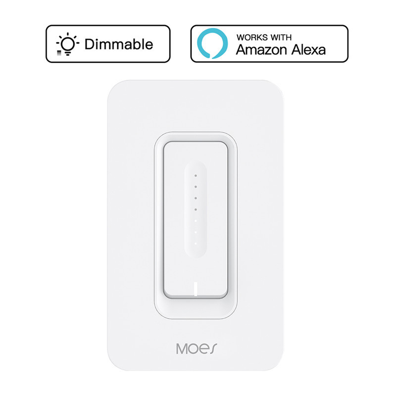 WiFi Smart Dimmer Light Switch APP Remote Control Works with Amazon Alexa and Google Home