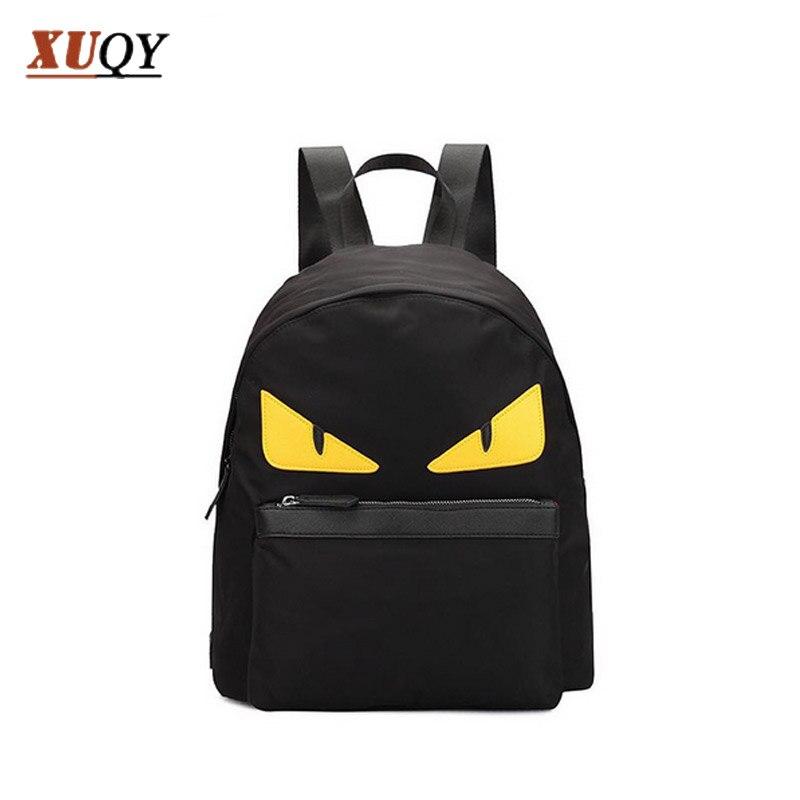 Small Monster Cartoon Women Backpack Waterproof Oxford Fabric Bags Backpacks For Teenage Girls MT100154