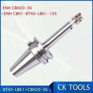 Image 1 - Frete grátis nova precisoin (ewn) cbh 20 36mm cabeça chata lbk1 hold BT40 LBK1 105 caramanchão 0.01mm grau aumento chato conjunto de cabeça