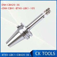 Precoin (EWN) CBH 20 36mm, tête dalésage LBK1, cale BT40 LBK1 105 arceau, 0.01mm, ensemble de tête dalésage, nouveau, livraison gratuite
