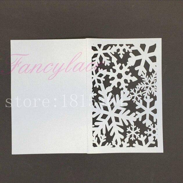 Online Buy Wholesale Snowflake Wedding Invitation From China Snowflake Wedding Invitation