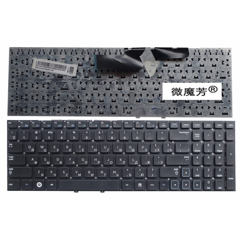 Russian Laptop Keyboard FOR Samsung NP 300E5A 300E5C 305E5A NP300E5A 305E5A 300V5A 305V5A 300E5C 300E5X RU ru keypad for samsung np300e5a np305e5a np300v5a np305v5a np300e5c russian keyboard black free shipping