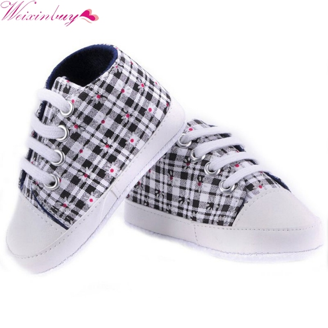 Baby Girls Boys 2015 Fashion Canvas Shoes Soft Prewalkers Casual Toddler shoes