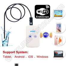 9mm Dia USB wireless WiFi Endoscope 20M cable endoscope inspection camera IP66 Waterproof iOS Android iPhone PC security camera