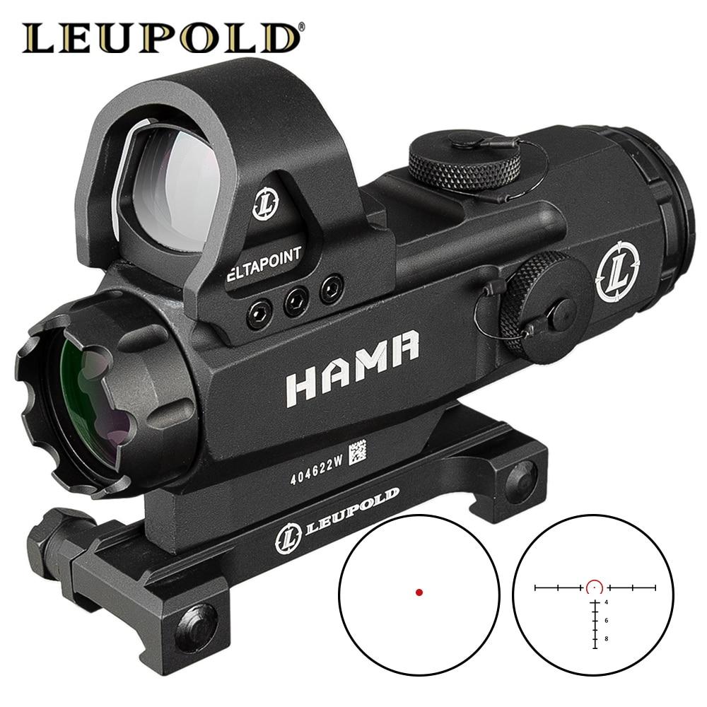 Tactical 4x24 HAMR Rifle Scope Lens Red Dot Mark 4 High Accuracy Multi-Range Riflescope PP1-0403