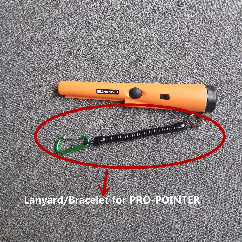 Handheld Metal Detector Bracelet Pro Pointer Lanyard Portable Anti-Lost Detector Accessary