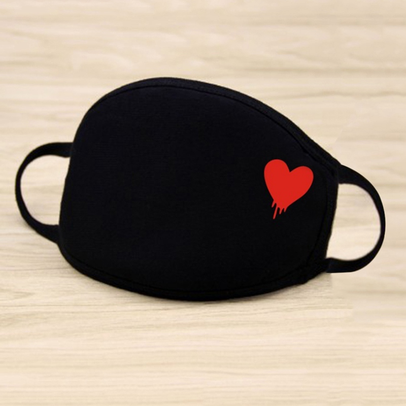Unisex Winter Warm Thickening Mouth Mask Cotton Warm Dust Respirator Fashion Black Face Masks Women Anti-Dust Drop Shipping