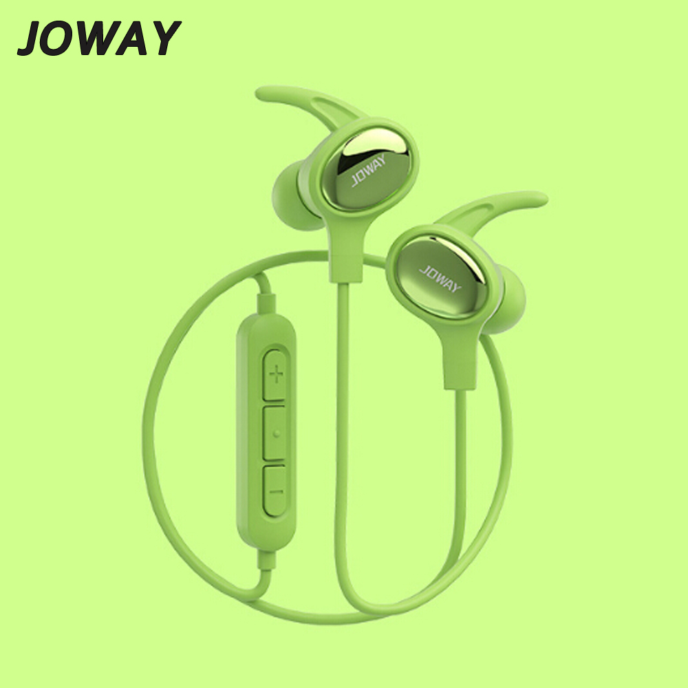 JOWAY NEW Bluetooth Earphone Sport Running Ear Hook Wireless Headphones Stereo Earbuds Bass Headset with Mic for iPhone joway in ear bluetooth headset stereo running bluetooth sport earphone with microphone for iphone 7 samsung xiaomi5 meizu pro6