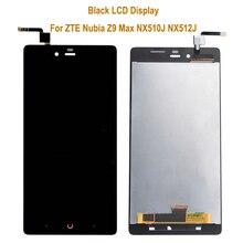 Для ZTE Нубия Z9 Max NX510J NX512J NX518J ЖК-дисплей + сенсорный экран планшета Ассамблея 5.5 дюйм(ов) для ZTE Нубия Z9 Макс ЖК-