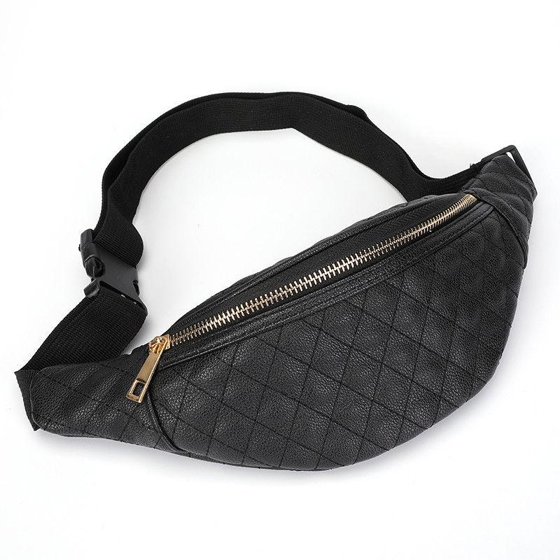 New Waist Bag Women Pu Leather Fanny Packs Belt Bags For Women Bum Bag Chest Bag