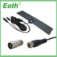 vhf uhf HD אנטנה טלוויזיה דיגיטלי טלוויזיה רדיוס אנטנות טלוויזיה Surf Antena טלוויזיה פוקס אוויר הפנים מגבר DVB-T2 / T UHF VHF אנטנה Eoth מקורה (2)
