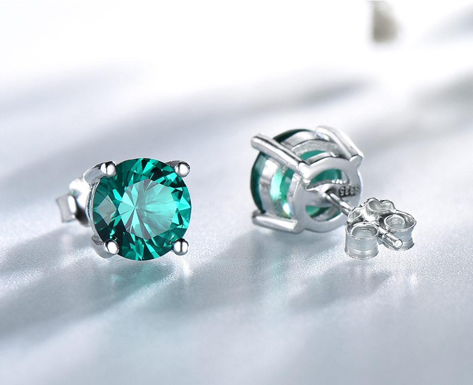 Honyy-Emerald-925-sterling-silver-stud-earrings-for-women-EUJ002E-1-PC_03