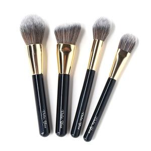 Image 3 - Set de brochas de maquillaje vela.yue, brocha de maquillaje sintética de viaje sin crueldad, Kit de herramientas de belleza, brocha de maquillaje en polvo, sombra de ojos de base, 15/4 Uds.