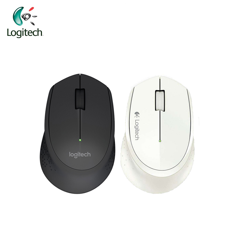 Logitech M275 Wireless Computer Mice 1000DPI Mouse Gaming for Windows10/8/7,Mac OS/Chrome OS /Linux Black/White Official Genuine