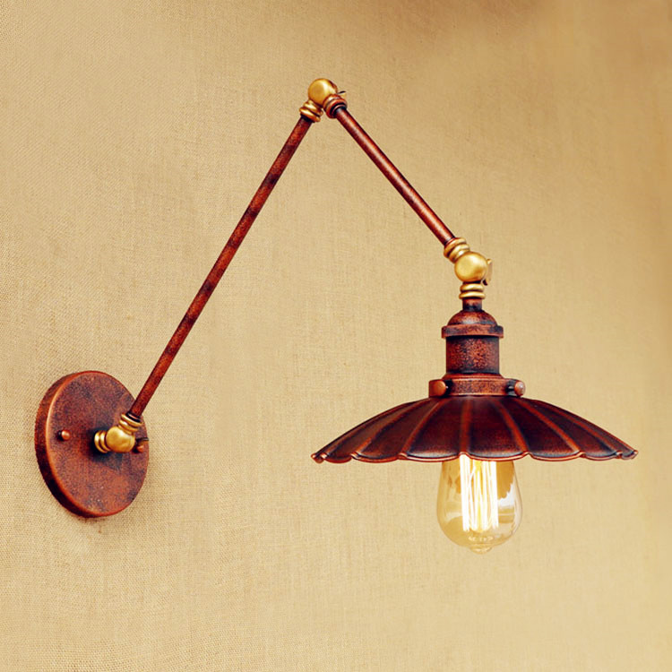 Antique retro loft industrial wall lamp lamp vintage for Applique luminaire murale
