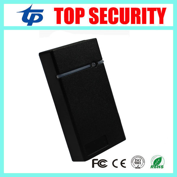 IP65 waterproof smart card reader 125KHZ RFID card EM card reader weigand access control card reader mini access control reader 125khz rfid card smart card access control ip65 waterproof metal proximity card access control with keypad weigand in and out