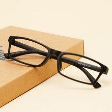 Männer Frauen ultraleichte tr90 myopierahmen brille brillengestell vollformat brille myopie gläser