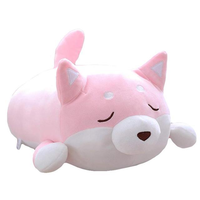 40cm Cute Corgi Plush Toy Akita Dog Stuffed Animals Doll Plush Soft Toys Shiba Inu Dog Plush Pillow